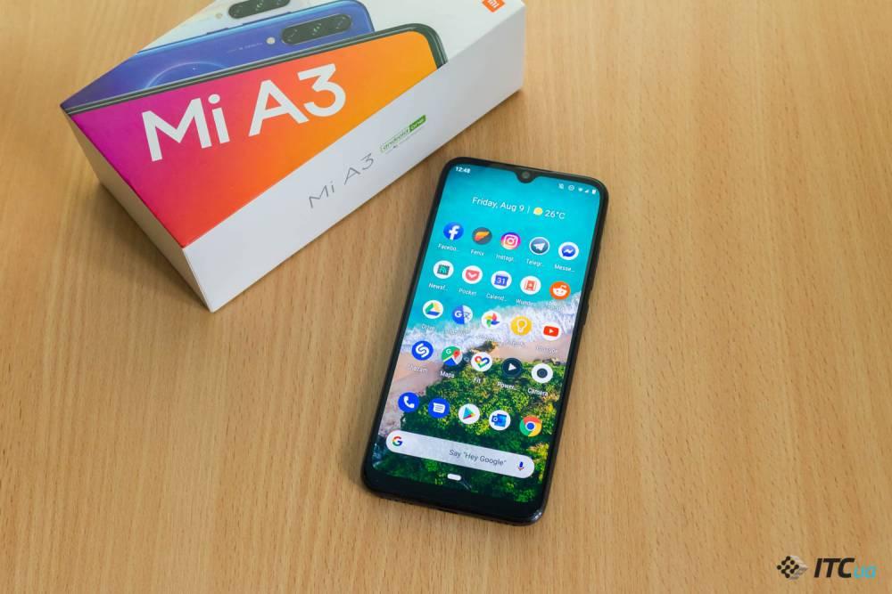Огляд смартфона Xiaomi Mi A3