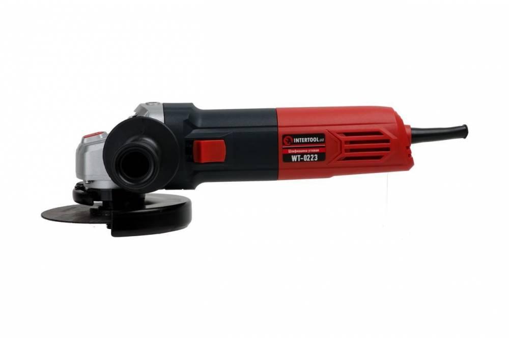 Болгарка INTERTOOL WT-0223 125 мм з регулюванням обертів