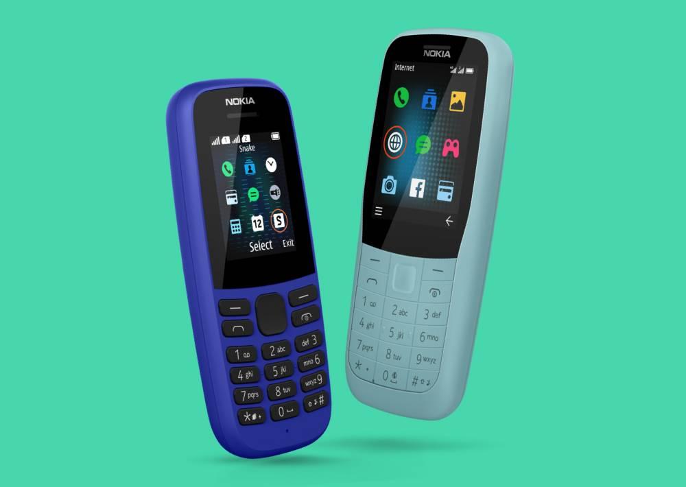 HMD Global представила мобільні телефони Nokia 220 4G і Nokia 105