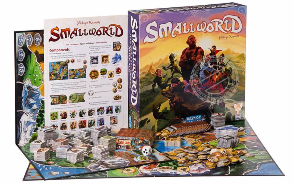 Обзор настольной игры Small World (Маленький мир)