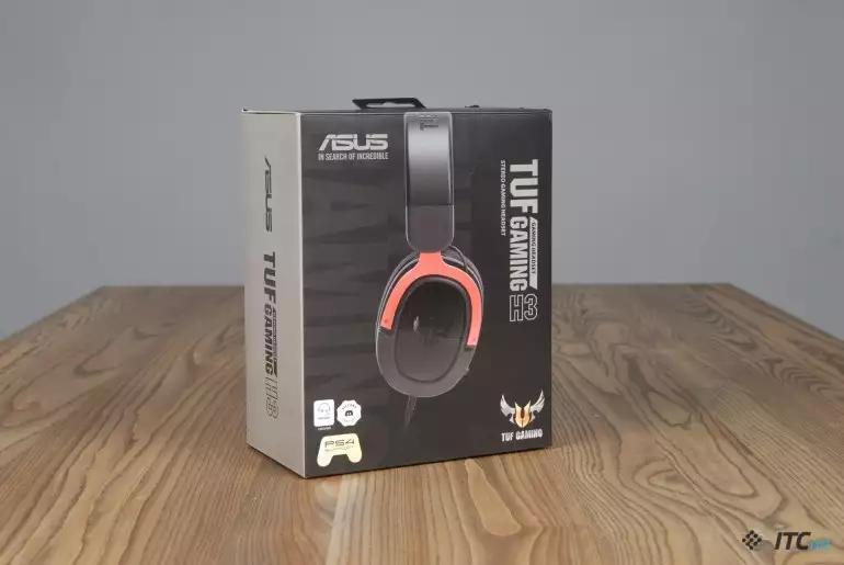 Огляд ігрової гарнітури ASUS TUF Gaming H3